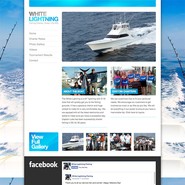 White Lightning Sport Fishing